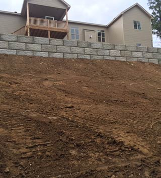 New Retaining Wall in St. Louis